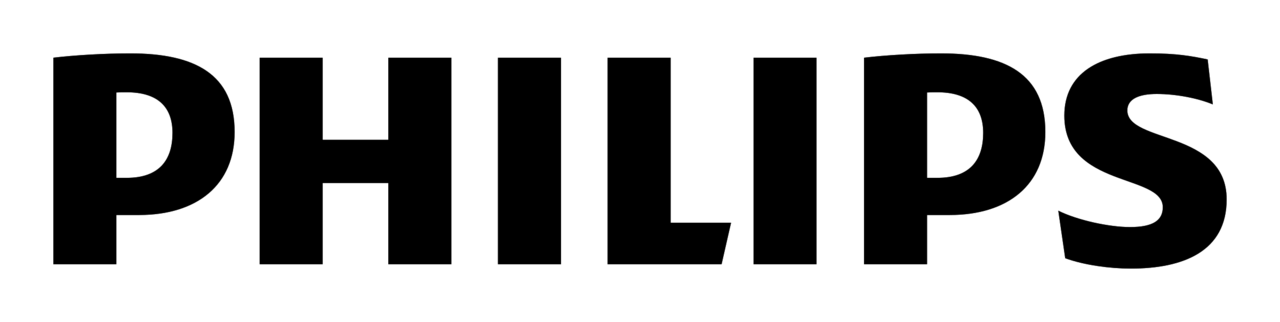 Philips logó fekete-fehér